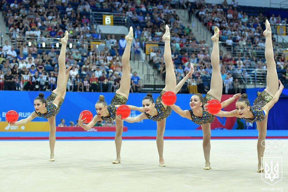 Сборная по художественной гимнастике