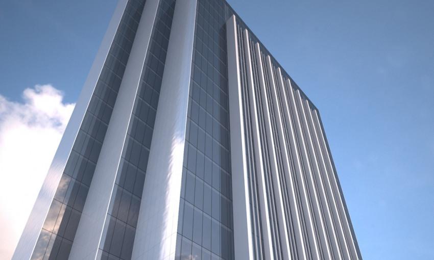В Днепре на месте гостиницы «Спорт» хотят построить бизнес-центр