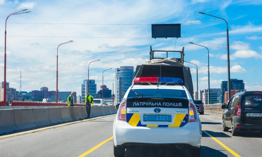 Безопасный Днепр: как работают реверсивные светофоры на Центральном мосту?