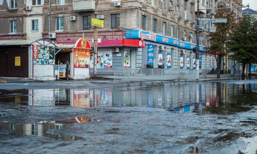Мокрый Днепр: как выглядит город после ливня?