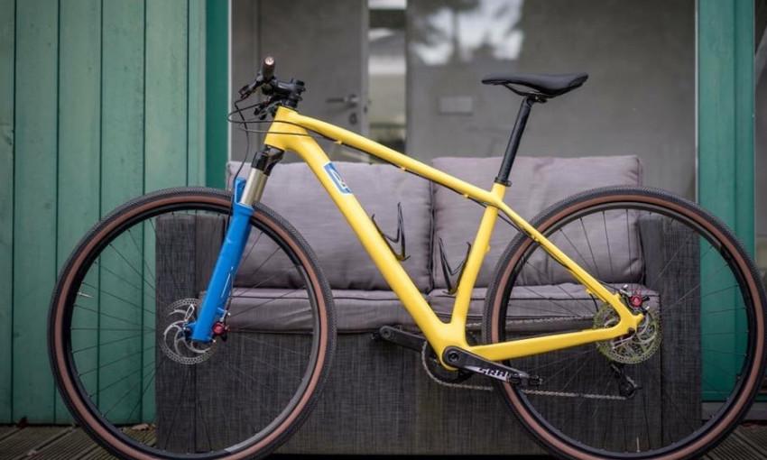 Яника Мерило показала свой велосипед